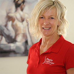 Pysiotherapeutin Birgit Voß-Zahn